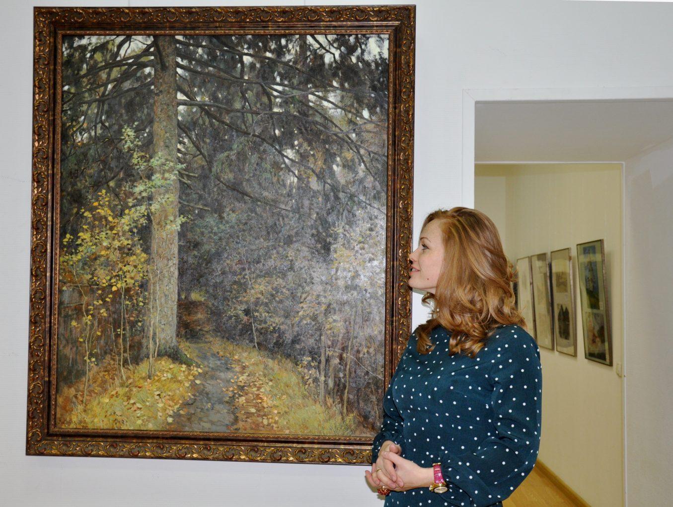 Выставка в честь 85-летия художественной школы им В.А.Серова при поддержке Фонда Валентина Серова (ноябрь 2019)